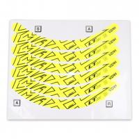Adesivo VMAXX - Fechado (Para Freio a Disco) - Amarelo Neon