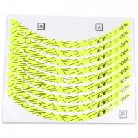 Adesivo VMAXX - Aberto (Para Freio V-Brake) - Amarelo Neon