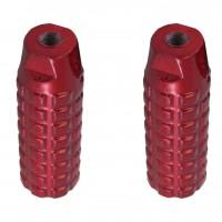 Apoio de Alumínio - Pequeno - Vermelho