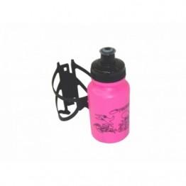 Garrafa da Água 250ml - Com Suporte - Rosa