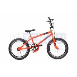 Bicicleta Aro 20 - Cross Street - Laranja Neon