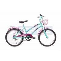 Bicicleta Aro 20 - Lady - Aniz com Violeta
