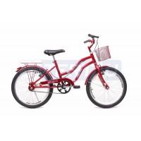 Bicicleta Aro 20 - Lady - Vermelha