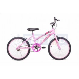 Bicicleta Aro 20 - MTB - Feminina - Rosa