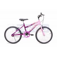 Bicicleta Aro 20 - MTB - Feminina - Violeta com Rosa
