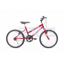 Bicicleta Aro 20 - MTB - Feminina - Vermelha