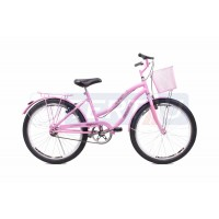 Bicicleta Aro 24 - Lady - Rosa