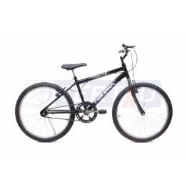 Bicicleta Aro 24 - MTB - Masculina - Preta