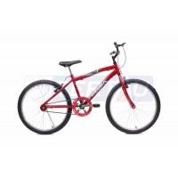 Bicicleta Aro 24 - MTB - Masculina - Vermelha