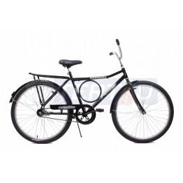 Bicicleta Aro 26 - Barra Circular - Freio no Pé - Preta