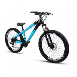 Bicicleta Aro 26 - GIOSBR 2020 - 21 velocidades - Shimano - Freio à Disco Mecânico - Azul com Preto