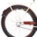Bicicleta Aro 26 - Retrô - Freio no Pé - Bege com Marrom