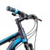 Bicicleta Aro 29 - Alfameq - 21 velocidades - Freio à Disco Mecânico - 17 – Preta/Azul