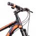 Bicicleta Aro 29 - Alfameq - 21 velocidades - Freio à Disco Mecânico - 17 – Preta/Laranja