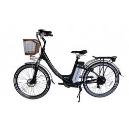 Bicicleta Aro 26 - Elétrica - July - Magias Italiane - Preta