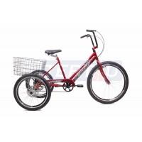 Triciclo Adulto Luxo - Freio A Disco