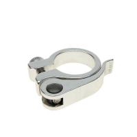 Abraçadeira Para Selim 25,4mm - Alumínio - Polido - Com Blocagem - Over