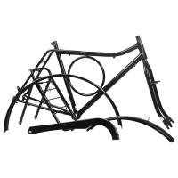 Kit Quadro Barra Circular - Com Pino - Preto