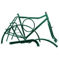 Kit Quadro Barra Circular - Com Pino - Verde