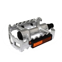 Pedal Alumínio MTB Rosca Fina 1/2 - Polido